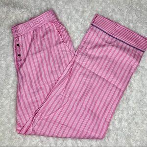 Victoria's Secret Pink Stripe Pajama Pant Flannel